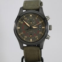 IWC Pilot Chronograph Top Gun Miramar pre-owned 46mm Ceramic