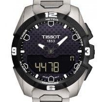 Tissot T-Touch Expert Solar Титан 45mm Черный Без цифр