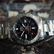 Breitling Avenger II GMT Steel 43mm Black Arabic numerals United Kingdom, Whitby- North Yorkshire