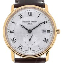 Frederique Constant Guld/Stål 39mm Kvarts FC-245M5S5 ny