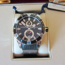 Ulysse Nardin pre-owned Automatic 44mm Black Sapphire Glass 30 ATM