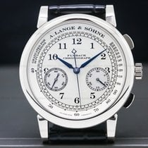 A. Lange & Söhne 1815 White gold 39mm Silver United States of America, Massachusetts, Boston