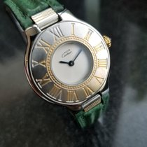 Cartier 21 Must de Cartier pre-owned 33mm White Leather