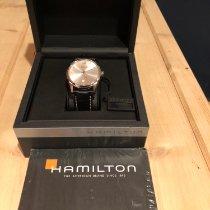 Hamilton Jazzmaster Slim Staal 43mm Zilver