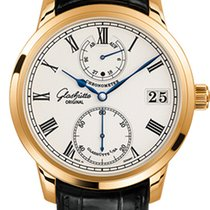 Glashütte Original Senator Chronometer Rose gold 42mm White Roman numerals