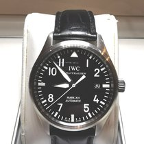 IWC Pilot Mark Steel 39mm Black Arabic numerals