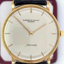 Audemars Piguet Yellow gold Automatic Silver No numerals 32mm pre-owned