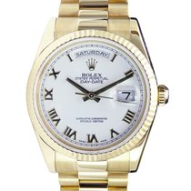 Rolex Day-Date 36 36mm Wit