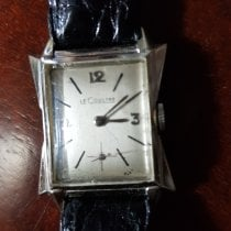 Jaeger-LeCoultre White gold Manual winding White Arabic numerals 27mm pre-owned Reverso (submodel)