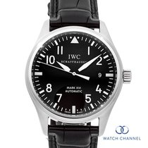 IWC Pilot Mark occasion 39mm Noir Cuir
