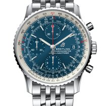 Breitling Navitimer Heritage Steel 41mm Blue No numerals United States of America, Iowa, Des Moines