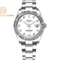 Rolex Oyster Perpetual Date Steel 34mm Silver United States of America, New York, New York