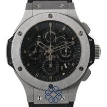 Hublot Tungsten Automatic Black pre-owned Big Bang Aero Bang
