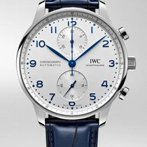 IWC Portuguese Chronograph new 2020 Automatic Watch with original box and original papers IW371605