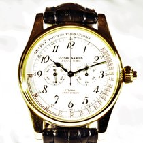 Ulysse Nardin Yellow gold Manual winding White Arabic numerals 36mm pre-owned