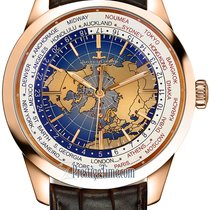 Jaeger-LeCoultre Geophysic Universal Time Rose gold 41.6mm Blue United States of America, New York, Airmont