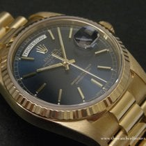 Rolex Modern: Oyster Perpetual Day-Date Blue Dial President...