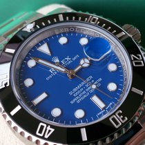 Rolex SUBMARINER REF 116610 BLUE+ NEU+B&P+FOLIERT## UNIKAT ##