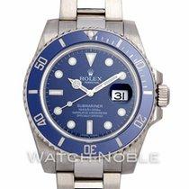 Rolex Submariner Date White gold 40mm Blue No numerals United States of America, California, Newport Beach, Orange County