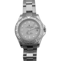 """Rolex A platinum and stainless steel watch """"Yacht-Master""""..."""