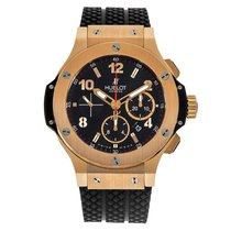 Hublot Big Bang 44 mm new Automatic Chronograph Watch with original box and original papers 301.PX.130.RX