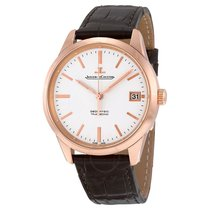 Jaeger-LeCoultre Geophysic True Second Rose gold 39.6mm Silver No numerals United States of America, New York, New York