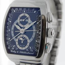 Dubey & Schaldenbrand Chronograph 50mm Automatic pre-owned Blue