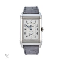 Jaeger-LeCoultre Reverso Duoface Steel 47mm Silver Arabic numerals United Kingdom, London