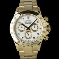 Rolex 116528 Gelbgold 2005 Daytona 40mm gebraucht