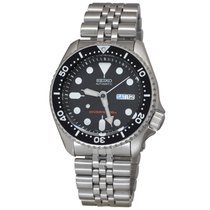 Seiko SKX007K2 Steel Prospex 42mm new