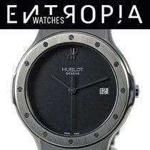 Hublot Acero Cuarzo Negro Sin cifras 36mm usados Classic