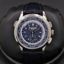 Patek Philippe World Time Chronograph White gold 39mm Blue United States of America, California, Huntington Beach