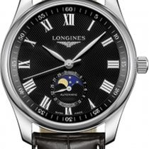 Longines Steel 40mm Automatic Master Collection new