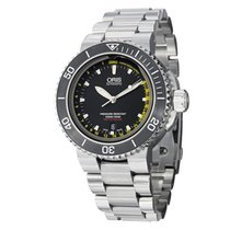 Oris Aquis Depth Gauge new Automatic Watch with original box and original papers 01 733 7675 4154