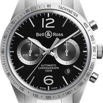 Bell & Ross BR V1 BR-126-GT-STEEL new