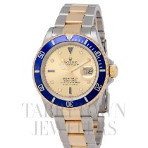 Rolex 16613 Gold/Steel 1999 Submariner Date 40mm pre-owned United States of America, New York, Hartsdale