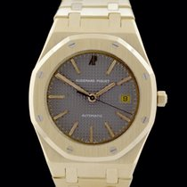 Audemars Piguet 14790 Zuto zlato 1987 Royal Oak 36mm rabljen