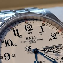 Ball Trainmaster NM1058D-S3J-WH pre-owned