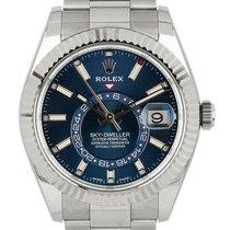 Rolex Sky-Dweller Acier 42mm Bleu