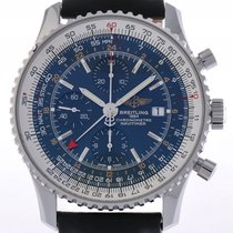 Breitling Navitimer World Stahl Automatik Chronograph 46mm...