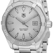 TAG Heuer Aquaracer 300M Steel Silver United States of America, New York, Brooklyn