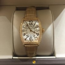 Franck Muller CURVEX  ROSE GOLD DiAMOND BEZEL