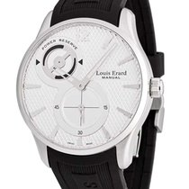 Louis Erard Steel 42mm Manual winding 53209AS01.BDE03 new