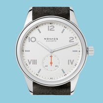 NOMOS Club Campus new 2021 Manual winding Watch with original box and original papers 735