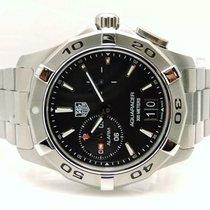 TAG Heuer Men's WAP111Z.BA0831 Aquaracer Black Dial Watch 39mm...