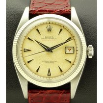 Rolex | Red Datejust in Stainless Steel, made in 1953