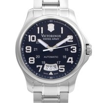Victorinox Swiss Army Officers Mecha Mens Stainless Steel...