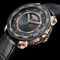 Dewitt Twenty-8-Eight 18K Rose Gold and PVD Titanium