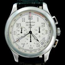 Zenith El Primero Chronograph Acier 40mm Blanc Arabes
