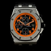 Audemars Piguet Royal Oak Offshore Chronograph Volcano Steel 42mm Black Arabic numerals United Kingdom, London